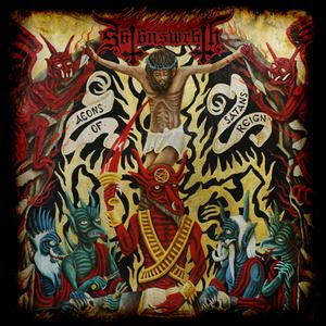 Satans Wrath - Aeons Of Satans Reign - Röd-Orange LP