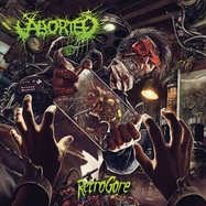 Aborted - Retrogore - Orange LP-CD