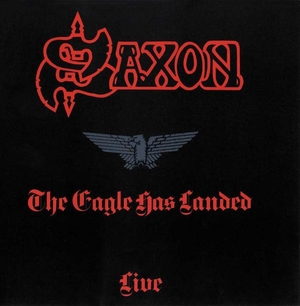 Saxon - The Eagle Has Landed - Röd LP