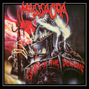 Massacra - Signs Of The Decline - Röd LP