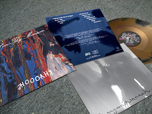Pan Thy Monium - Khaooohs - Svart-Guld LP