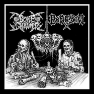 Bone Gnawer - Bonesaw - Split - LP