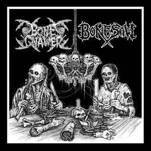 Bone Gnawer - Bonesaw - Split - LP