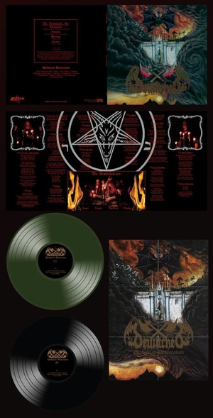 Bewitched - Diabolical Desecration - Green LP
