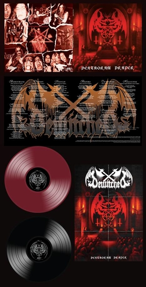 Bewitched - Pentagram Prayer - Oxblood LP