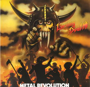 Living Death - Metal Revolution - Splatter LP