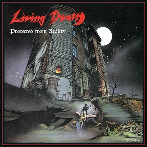 Living Death - Protected From Reality - Splatter LP