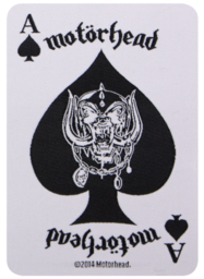 Motörhead - Ace Of Spades Card - patch