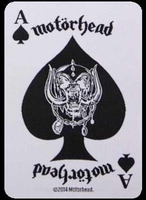 Motörhead - Ace Of Spades Card - patch