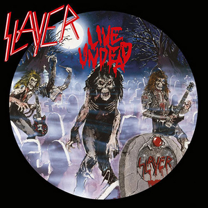 Slayer - Live Undead - Violett LP