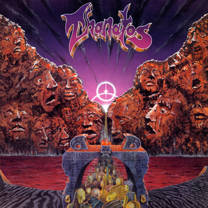 Thanatos - Realm Of Ecstacy - Orange LP