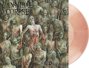 Cannibal Corpse - The Bleeding - Hud-färgad LP