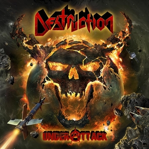 Destruction - Under Attack - Yellow LP