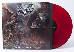 Total Inferno - Return Of Evil Chaos - Röd LP