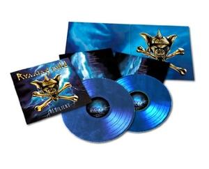 Running Wild - Resilient - Blå LP