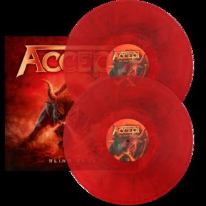Accept - Blind Rage - Marmorerad LP