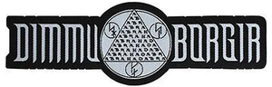 Dimmu Borgir - Logo - patch