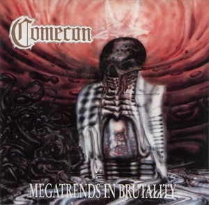 Comecon - Megatrends In Brutality - Röd LP