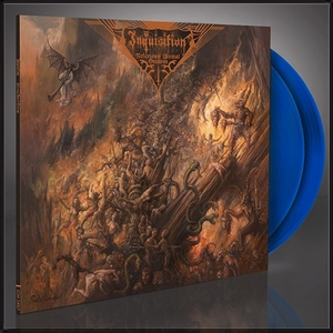 Inquisition - Nefarious Dismal Orations - Transp Blå LP