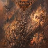 Inquisition - Nefarious Dismal Orations - Transp Blå LP