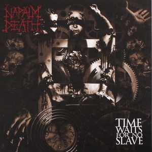 Napalm Death - Time Waits For No Slave - Grön LP