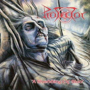 Protector - A Shedding Of Skin - Blue LP