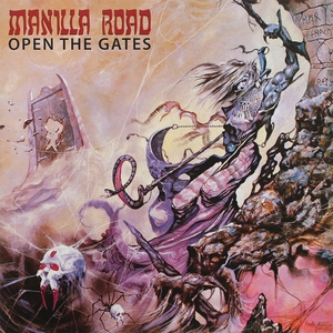 Manilla Road - Open The Gates - Splatter LP
