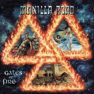 Manilla Road - Gates Of Fire - Splatter LP