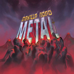 Manilla Road - Metal - Red LP