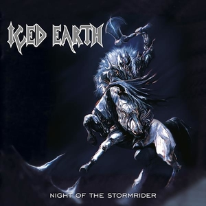 Iced Earth - Night Of The Stormrider - Blå LP