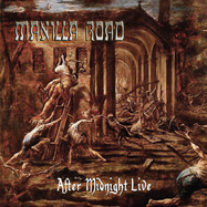 Manilla Road - After Midnight Live - Clear LP