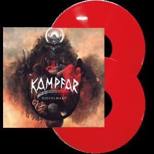 Kampfar - Djevelmakt - Röd LP