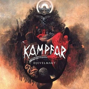 Kampfar - Djevelmakt - Red LP